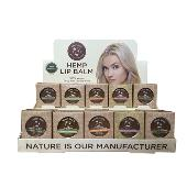 Hemp Lip Pots 30 pc. Pre-pack plus display (Tins Only)