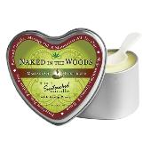 Heart Candles Naked in the Woods 4.7oz