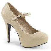 5 1/4 inches Heel, 1 1/4 inches PF Maryjane W/Concealed PT Pump