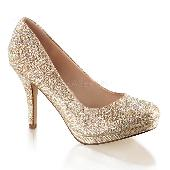 3 1/2 inches Heel, 1/2 inches PF, Pump w/RS Embellishment