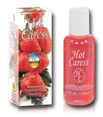 Hot Caress Flavoured Warming Massage Oil - Strawberry
