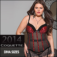 Coquette Main Collection - Diva Size