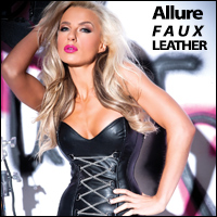 Allure Lingerie - Faux leather