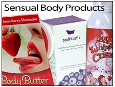 sensual body products