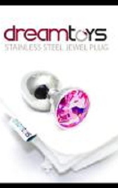 DreamToys Stainless Steel Jewel Butt Plug - Small