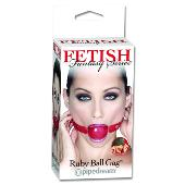 FF Ruby Ball Gag