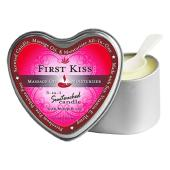 Heart Candles First Kiss  4.7oz.