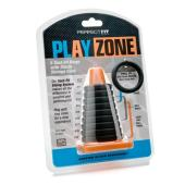 PerfectFit - Play Zone Kit ( 9Xact-Fit Rings with Cone ) - Black