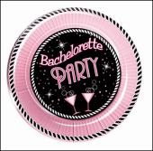 Bachelorette Party 10 inch plate