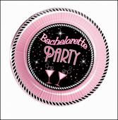 Bachelorette Party 7 inch plate