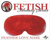 Fetish Fantasy Series Feather Love Mask - Red (CLEARANCE)