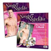 Sportsheets Naughty Night Out - Pin the Junk on the Hunk