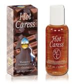 Hot Caress Flavoured Warming Massage Oil - Chocolate