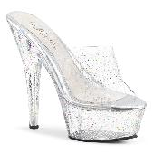 6 inches Heel, 1 3/4 inches PF Slide W/Mini Glitters