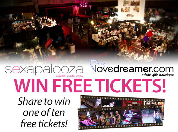 Win Free Tickets to Sexapalooza!