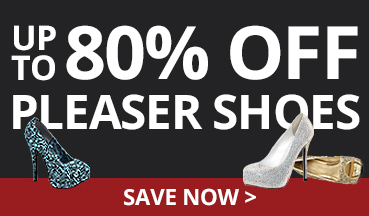Up to 80% off Pleaser Shoe Clearance