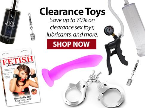 Sex Toys Clearance