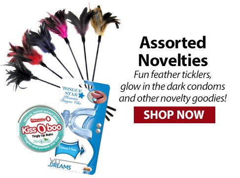 novelty ticklers & condoms