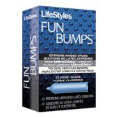 Lifestyles Fun Bumps - 12 pack