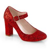 4 inches Block Heel Mary Jane Pump
