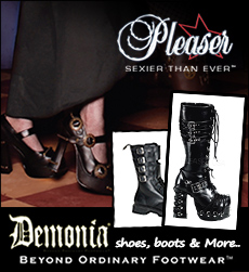 DEMONIA Shoes, Boots & Accesories