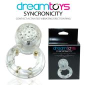 DreamToys Synchronicity - Contact Activated Vibrating Erection Ring (CLEARANCE)