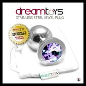 DreamToys Stainless Steel Jewel Butt Plug - Large