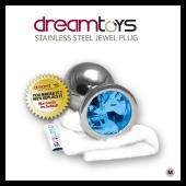 DreamToys Stainless Steel Jewel Butt Plug - Medium