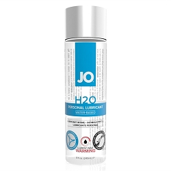 JO H2O Warming Water Based Lubricant - 8oz