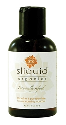 Sliquid Organic Water Based Warming Lubricant