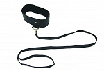 Sportsheets S&M Black Leash and Collar