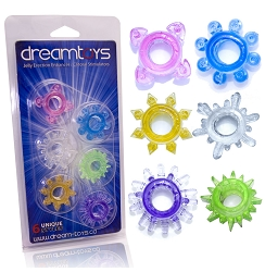 DreamToys - Jelly Ring Set