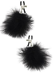 Sportsheets S&M Feathered Nipple Clamps